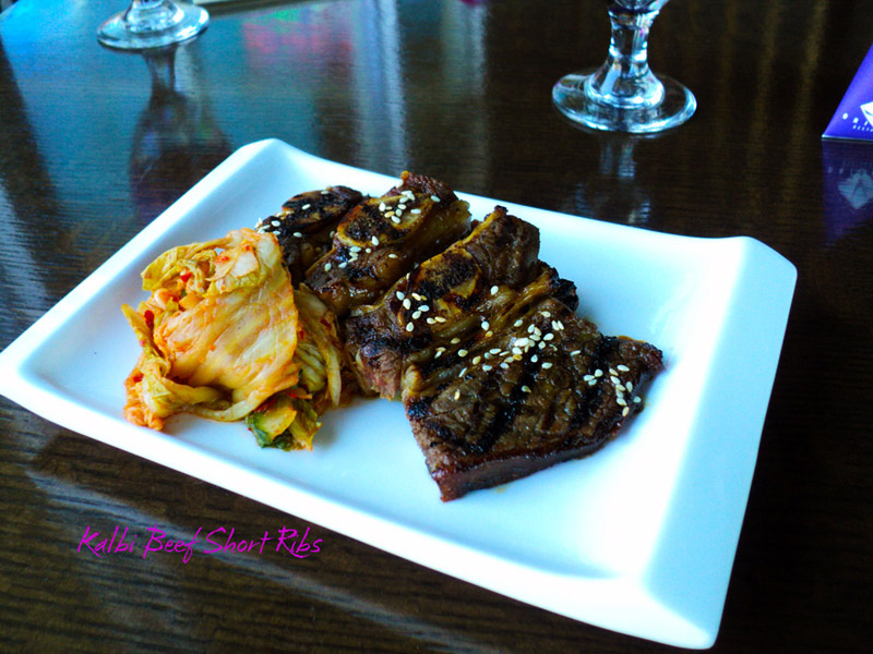 A delicious combination of sweet Kalbi marinade and smokey grilled char.