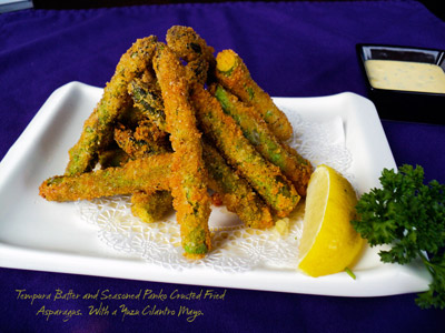 Tempura, asparagus, best, Japanese, Special, Restaurant, deals, sushi, sashimi,