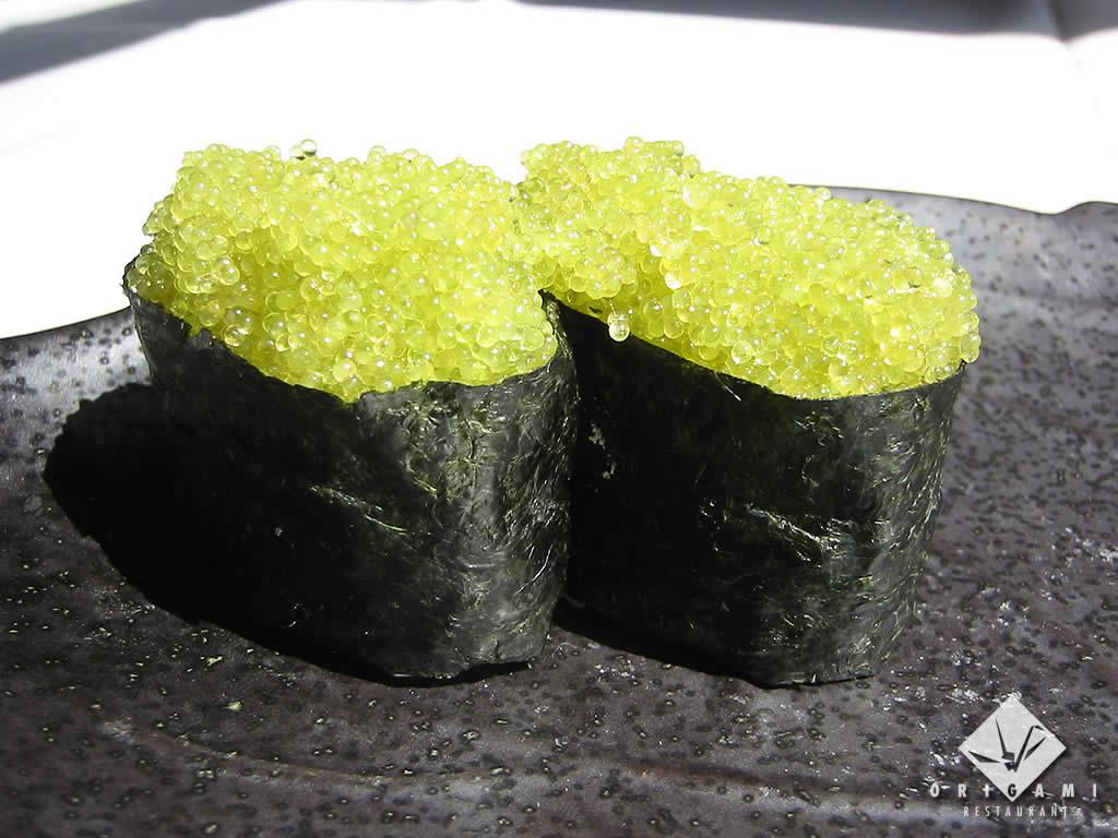Tobiko Nigiri Tobiko Seasoned Wasabi or