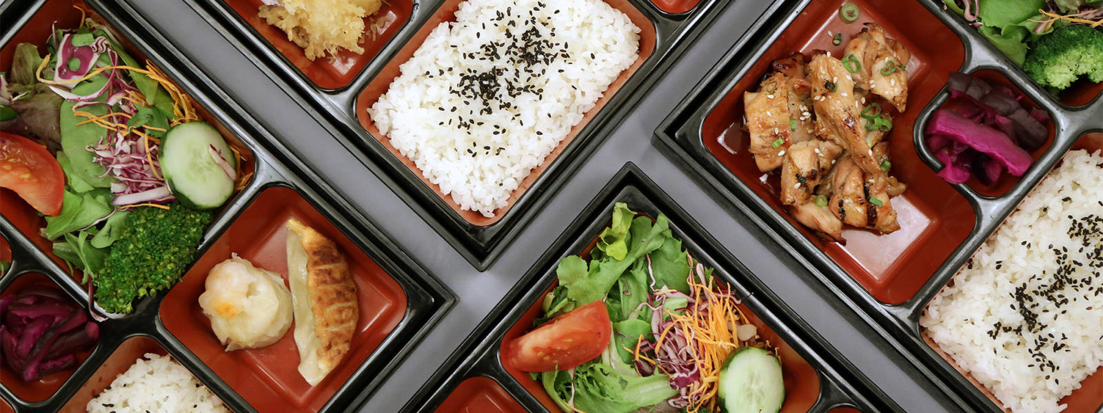 Lunch Offerings at Origami Restaurant in Minneapolis