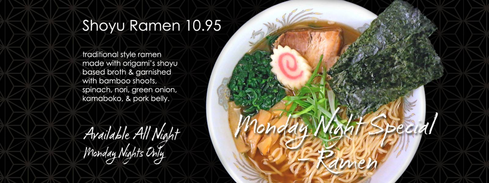 Monday Night Special – Ramen