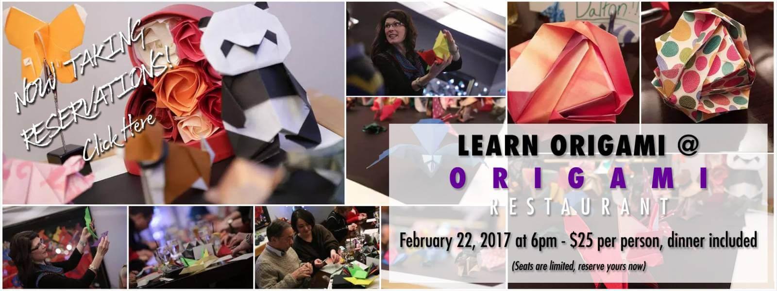 Learn Origami At Origami – February 22, 2017