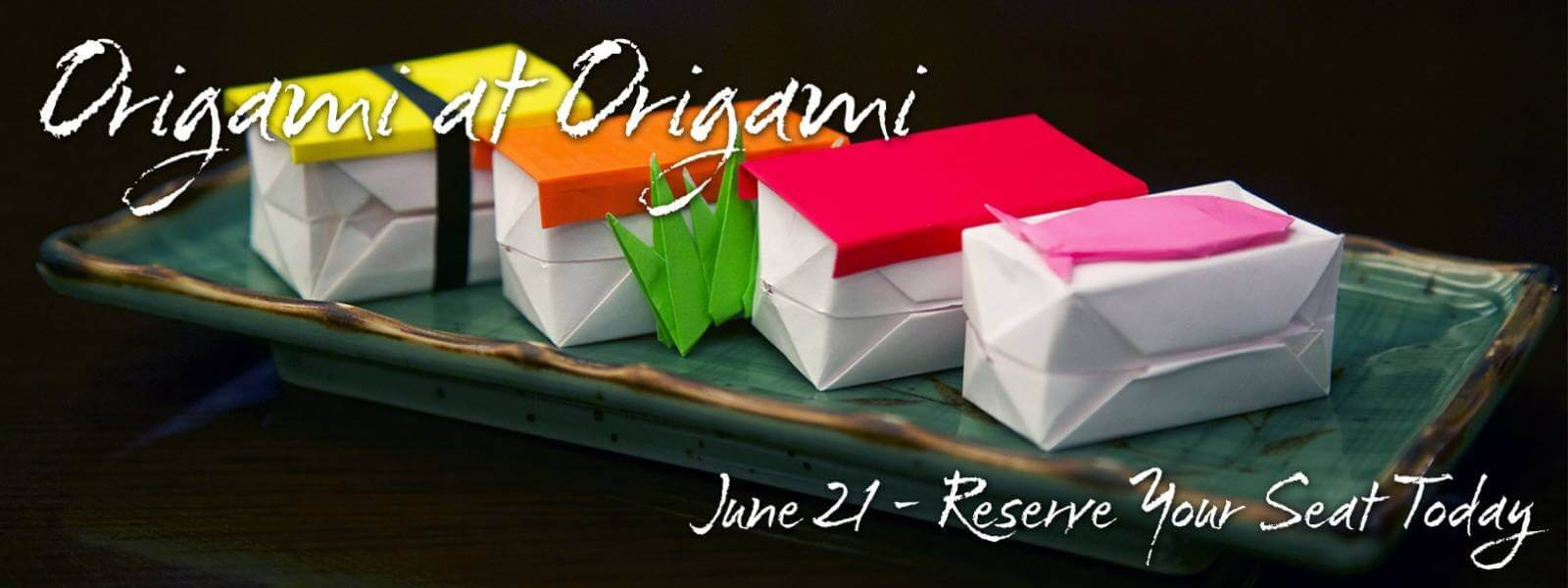Learn Origami at Origami June 21