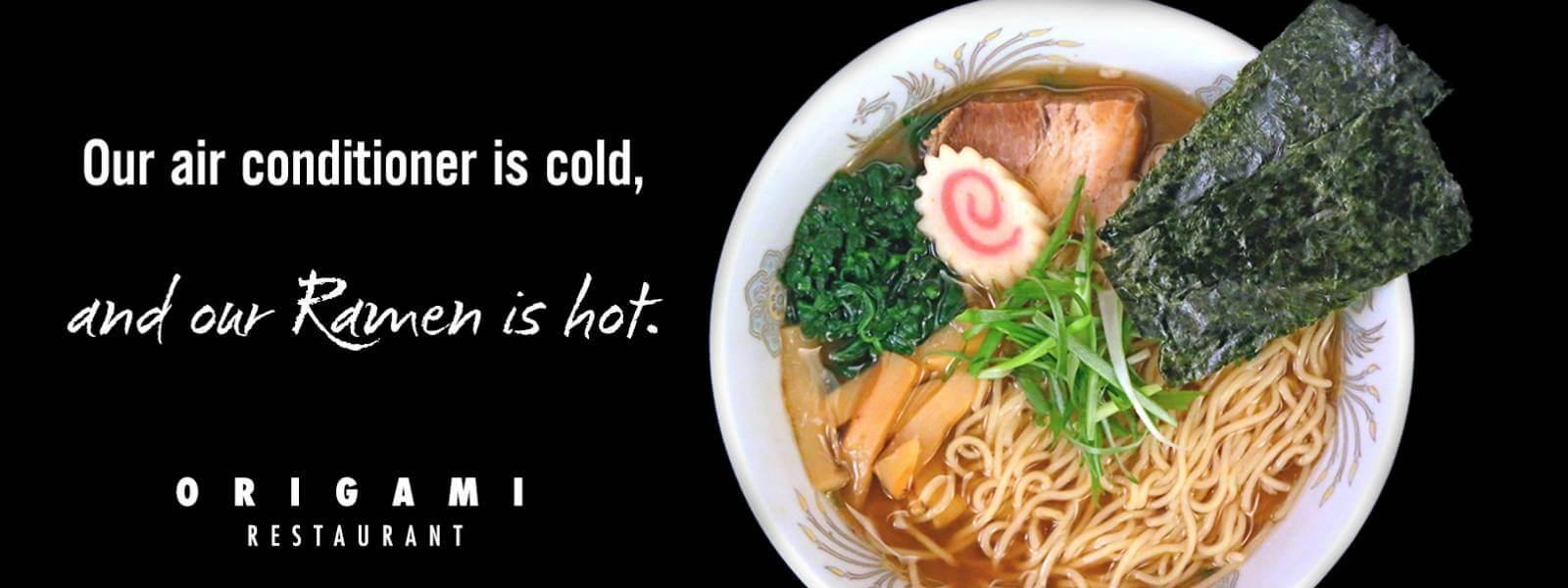Origami Ramen Noodle Soup