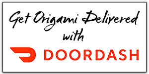 Get OrigamiDelivered with DoorDash