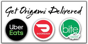 Get Origami Delivered